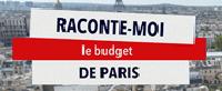Raconte moi le budget de Paris